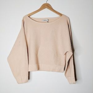 Zara • Oversized Light Pink Sweater